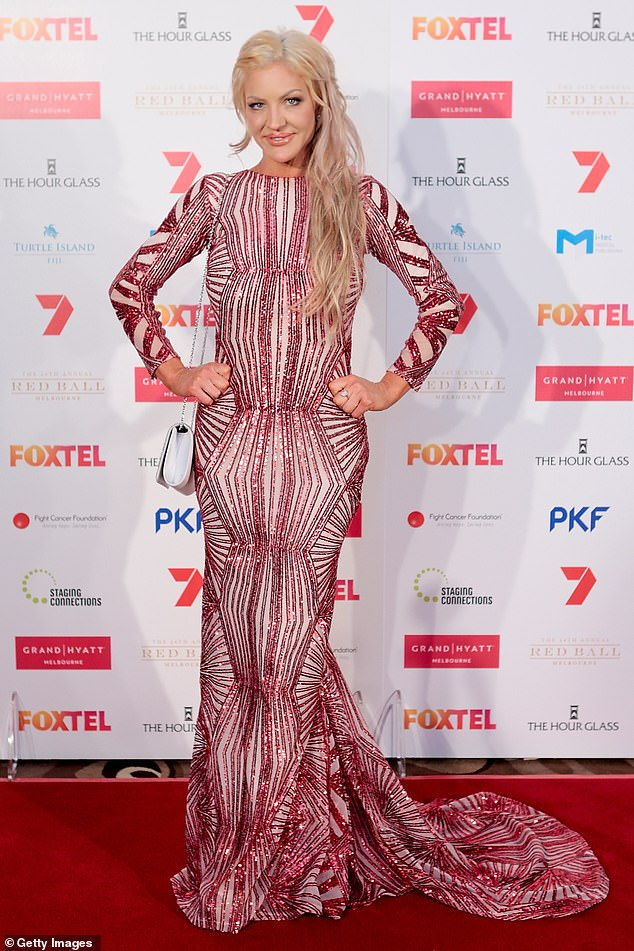 'It brought me to where I am today': While their relationship didn't last, Brynne has 'no regrets' about their union, despite being widely described as a 'gold digger' at the time. Pictured on August 6, 2016, in Melbourne