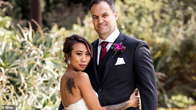 Exes: Ning and Mark were partnered on the 2019 season of Married At First Sight