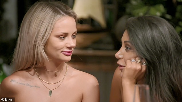 'The highlight of my day' UK viewers are praising Married At First Sight Australia for helping them cope with coronavirus lockdown. Pictured: Jessika Power and MarthaKalifatidis