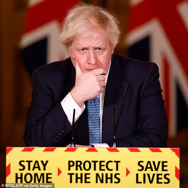 Too entertaining to switch off! Other fans have even joked that UK Prime Minister Boris Johnson (pictured) should re-schedule his public broadcasts as not to clash with the reality show