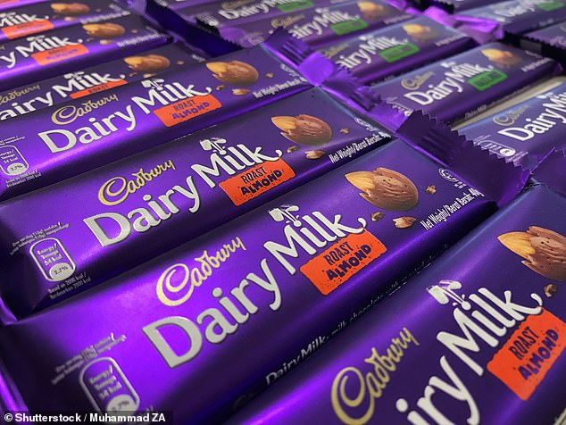 There are rumours Cadbury have a new chocolate in the pipeline, pictured is their Roast Almond bars