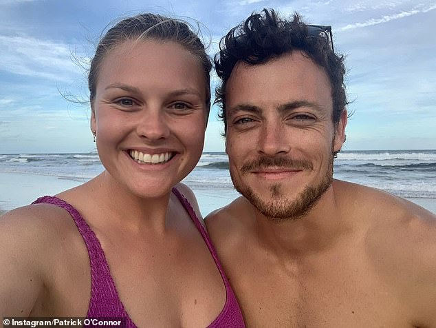 'We were work buddies first, and it's helped us work well together now, so we're lucky int hat regard':Home and Away star Sophie Dillman has spoken candidly about her relationship with co-star Patrick O'Connor and has revealed how their friendship blossomed into a romance