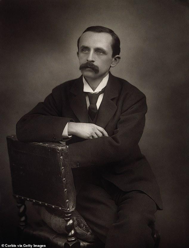 JM Barrie, whose work included 1904's Peter Pan, fantasised about meeting Robert Louis Stevenson