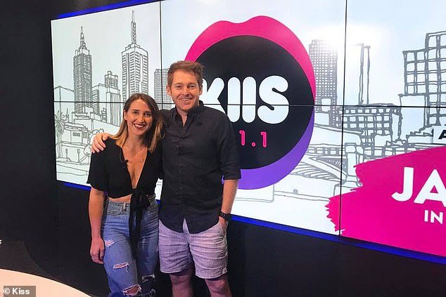 Kiwi imports: They moved to Australia in late 2017 to host KIIS 101.1's breakfast slot, replacing axed duo Matt Tilley and Meshel Laurie