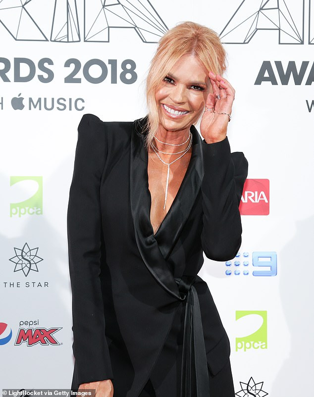 Making her move: Former Nine star and Today Extra host Sonia jumped ship to Seven in November 2019 after being offered 'more than $1million a year', according to intel supplied by a source to Daily Mail Australia. Pictured: Aria Awards 2018