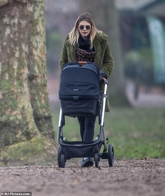 Honest: Ashley explained she hasn't always had conventional feelings towards motherhood