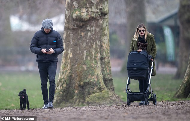Life surprises you: Ashley previously admitted she never dreamed of becoming a mum and may not have had children if she didn't fall pregnant in lockdown