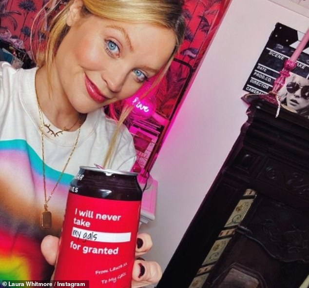 Pregnant Laura Whitmore hits back after being warned of Coca-Cola