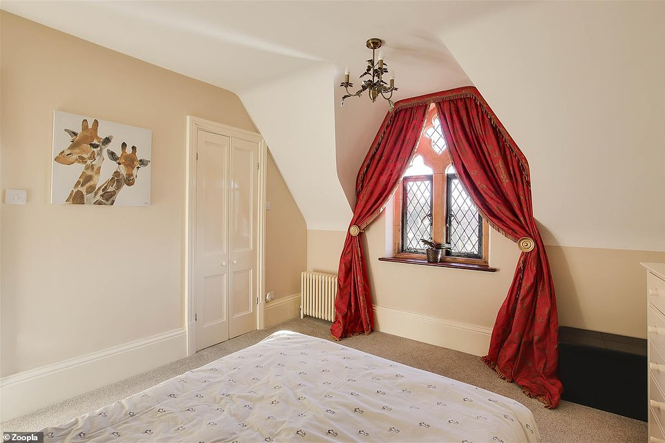 On the second floor, there are two further bedrooms with a Jack & Jill shower room suite, and a light colour scheme