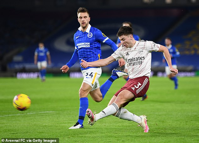 Tierney has made 16 Premier League starts this season which is the best of any Arsenal player
