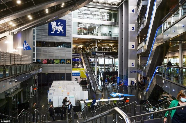 One of the largest sites is in theMillenium Point in Birmingham, as Britain races to rollout the vaccine
