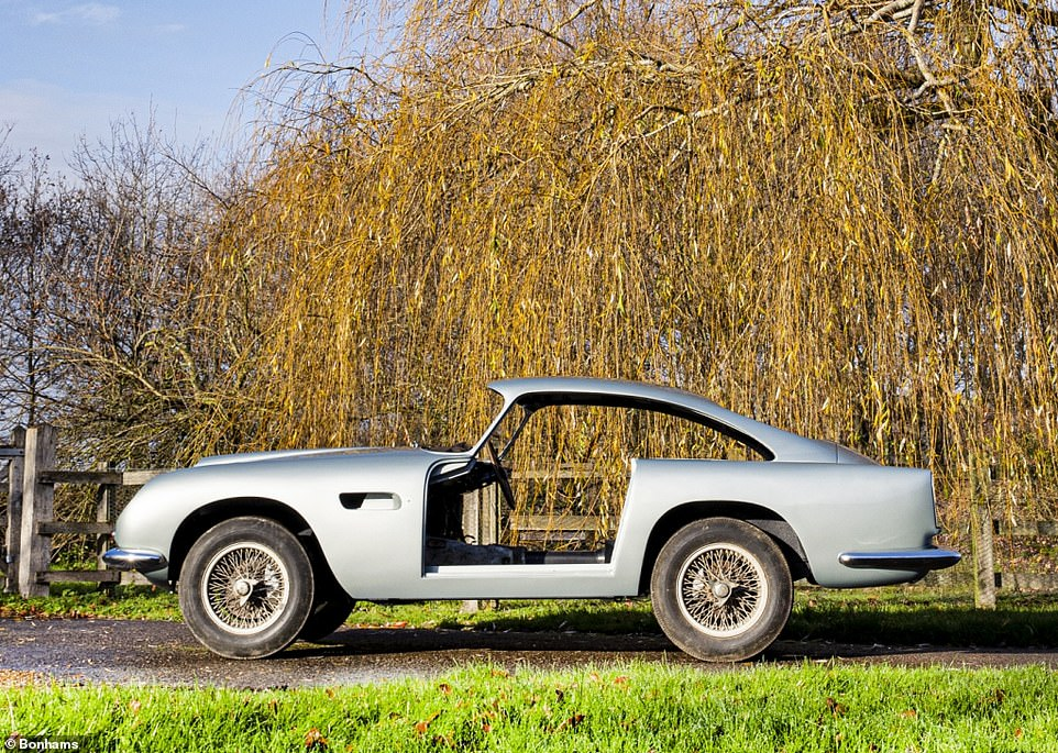 The assemble-it-yourself Aston Martin: This 1960 Aston Martin DB4GT is being offered to the highest bidder in a dismantled condition. Despite this, it is estimated to fetch up to £1.8million