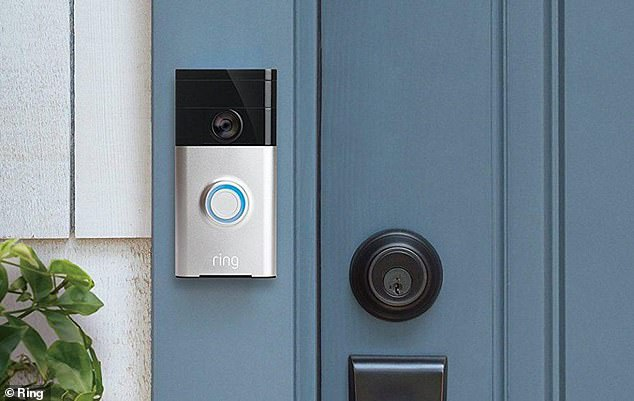 Smart tech: A Ring doorbell shows households who is outside their door before they open it