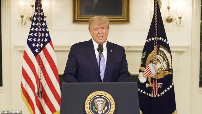 Murkowski said that Trump should resign, saying he had done enough damage