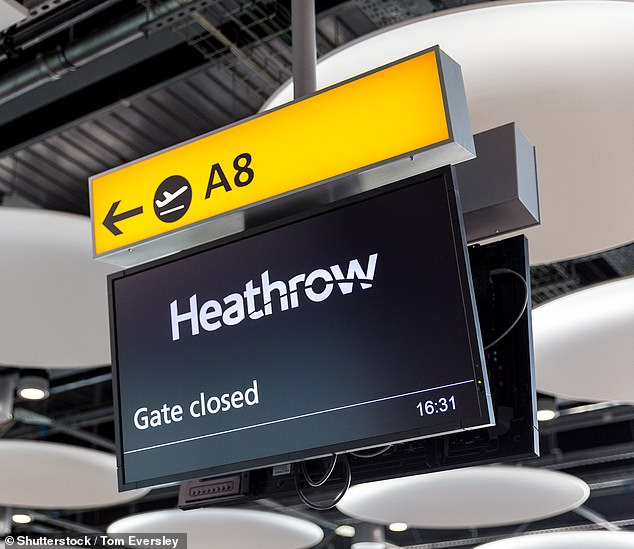 Doubts:Heathrow lost three quarters of its passengers in 2020, with only 22m travelling through the UK's busiest airport