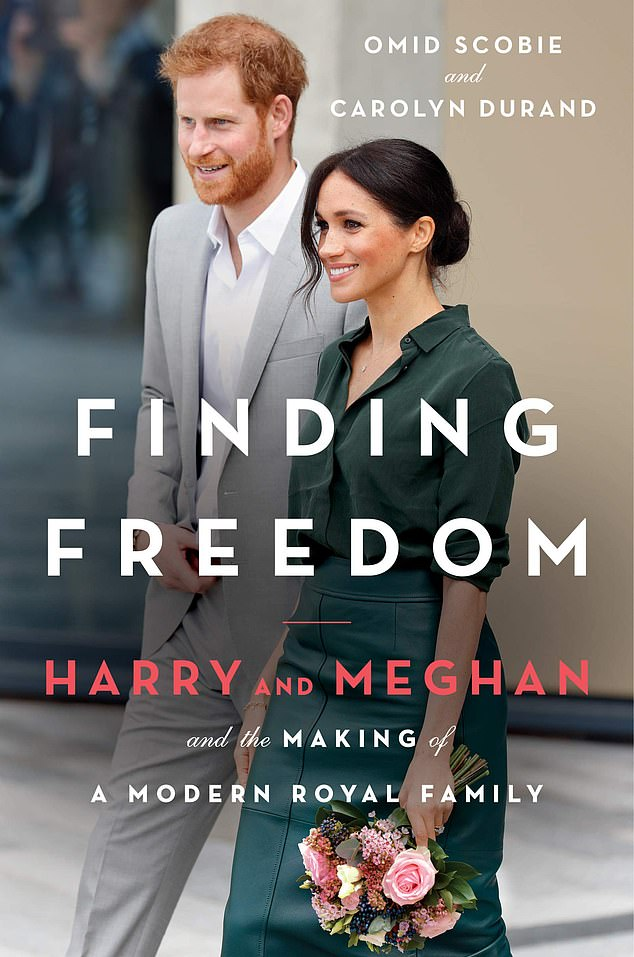 Finding Freedom biography authors (pictured) Carolyn Durand and Omid Scobie claim the move to Los Angeles brought difficult changes for the couple who pulled out of the royal family in March last year .