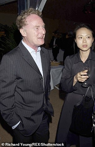 Malcolm Mclaren and Young Kim in 2002