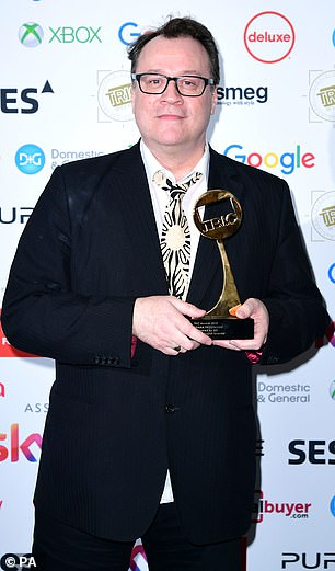 Only gay actors should play gay characters in film and television, critically-acclaimed screenwriter Russell T Davies (pictured) has insisted