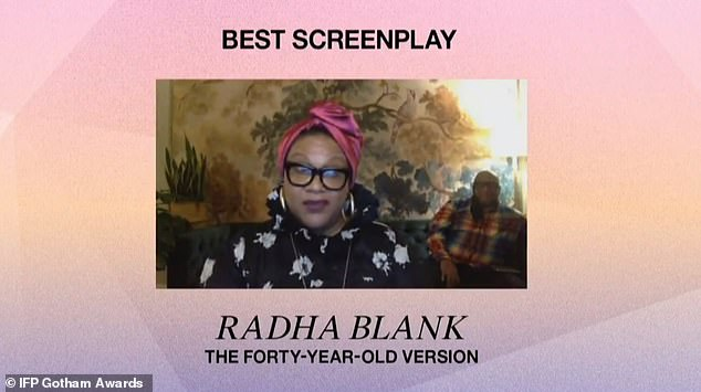 Winner:Blank began by saying, 'Holy s**t,' adding that Lonergran's work, 'means so much to me.' while thanking everyone in the category with her