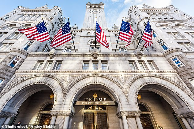 One of the the $340 million in loans was for the Trump International Hotel in Washington D.C.