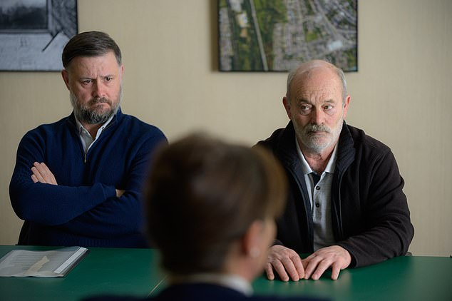 Detectives, led by Superintendent Steve Wilkins, were able to nail Cooper (played by Keith Allen in the drama, pictured right) for the murders through advancements in DNA testing, as well as linking him to the area where the crimes were committed after comments he made on Bullseye