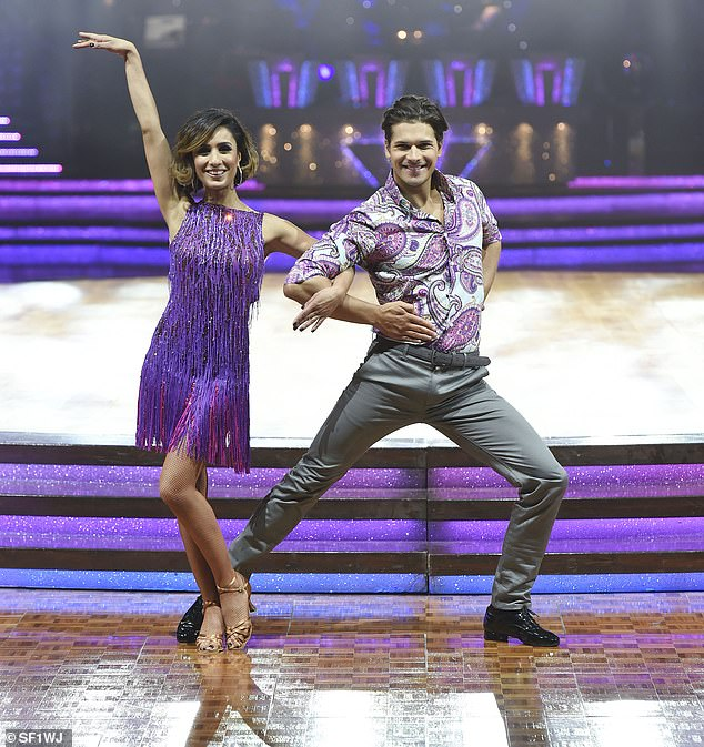 The presenter in 2015 made it to the semi-finals of Strictly with dance partner Gleb Savchenko