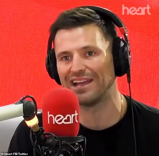 Mark Wright says his father, 64, is still 'not completely better'