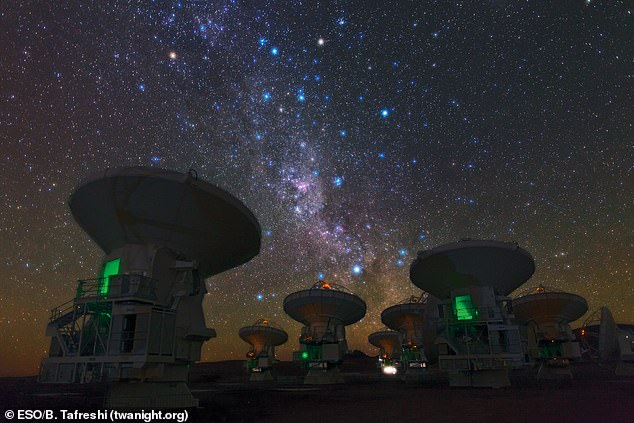 Observations with the Atacama Large Millimeter/submillimeter Array (ALMA) in Chile confirmed the distance measurement to high precision