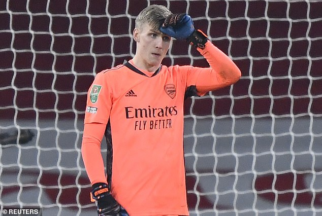 Arsenal are looking to sign a new goalkeeper this month with Alex Runarsson underperforming
