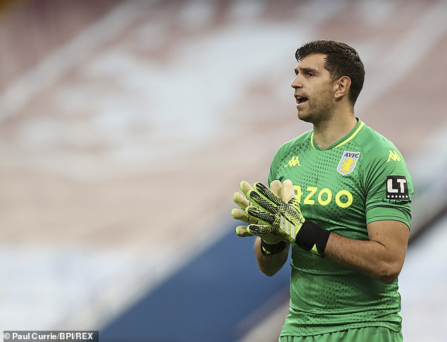 But the Argentine decided to move on in the summer and joined Aston Villa in a £20m deal