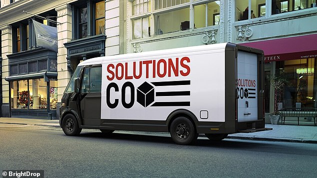 The EV600 (pictured) delivery van is GM's first commercial vehicle to use its in-house next-generation Ultium battery system that has been poised as 'a Tesla killer'