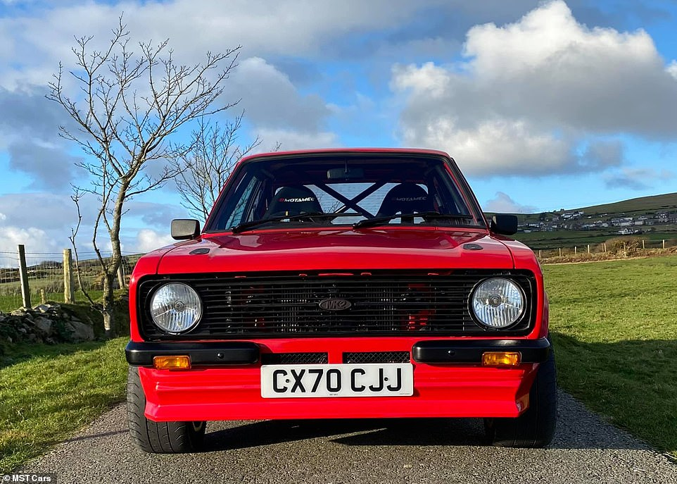 These are the first images of the top-to-bottom MST Cars Escort Mk2, with the prototype pictured on the latest 70-plate