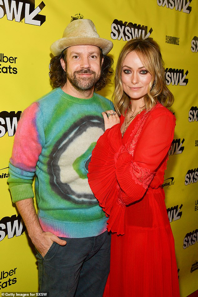 Ex:PEOPLE magazine recently reported that Olivia's new relationship with Harry was the catalyst to end her engagement to Sudeikis (pictured in March 2019)