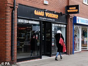 Games Workshop has benefitted from people being stuck at home