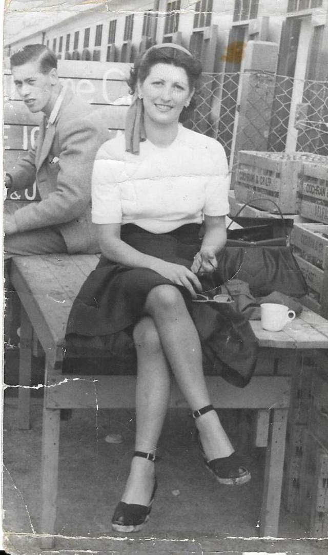 Maggie Heaton nee O'Connor aged 21. Her daughter Mary died at Tuam