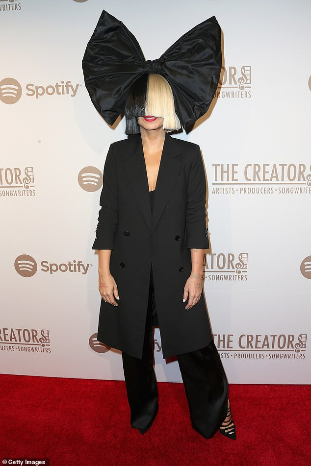 Doesn't like what she sees:She also famously got into a heated back-and-forth on social media with artist Sia (seen in February 2013) who criticized her over the post