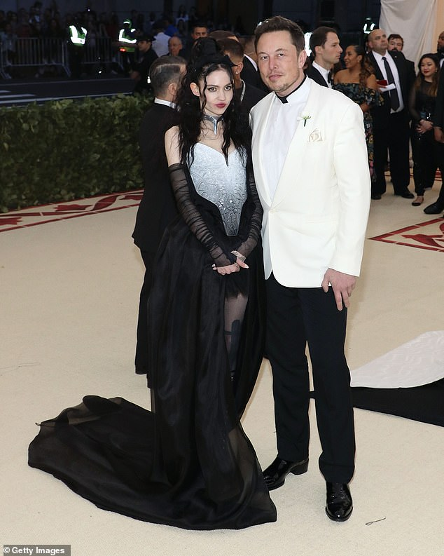 Banks also went on a vicious rant about Grimes, who she branded an 'idiot, Musk who she called a 'beta male' and branded them both 'crackhead' in a rambling attack.A rep for Musk's dismissed Banks' claims as 'absolute nonsense'