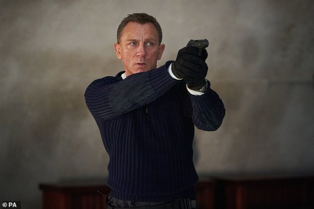 Changes: The release of James Bond's film No Time to Die is reported to be 'delayed again' amid the COVID-19 crisis on Tuesday (Daniel Craig pictured)