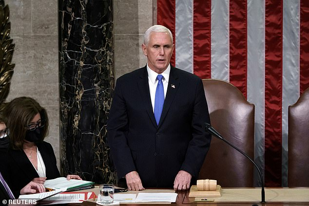 Vice President Mike Pence says he will NOT invoke the 25th Amendment
