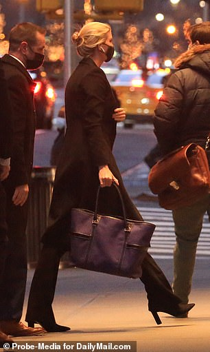 Ivanka in the city! She emerged in New York amid reports that she's defying her father's wishes and plans on attending Joe Biden's inauguration ceremony on Capitol Hill on January 20, much to her father's outrage