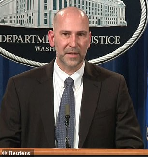 At a press conference on Tuesday afternoon, Steven D¿Antuono (left), the head of the FBI¿s Washington Field Office, said agents shared the information on the Joint Terrorism Task Forces communications system within 40 minutes of receiving it, He did not say what time that was or even what day it was. Acting US Attorney Michael Sherwin (right) said hundreds would be charged