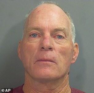 Arkansas man Richard Barnett, 60, made his first court appearance Tuesday