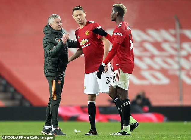 Solskjaer has played Pogba and Matic together recently but may try to add further solidity