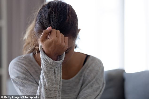 The researchers recommend that doctors should carry out physical assessments on young people, so that any early signs of psychosis or depression can be diagnosed and treated early (stock image)