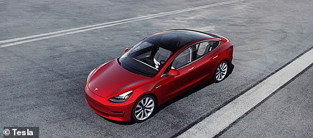 Large electric car: Tesla Model 3