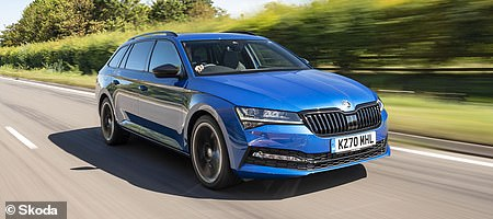 Estate: Skoda Superb