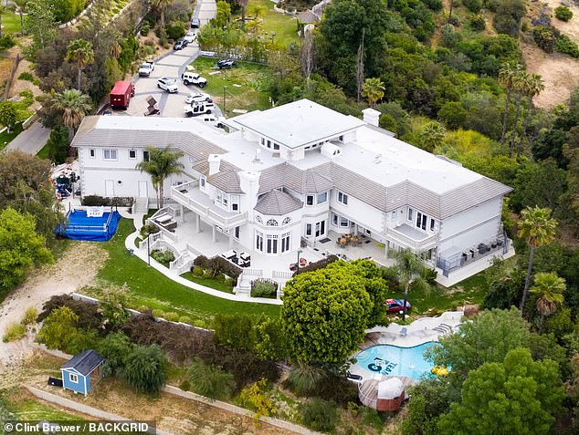On the market: Jake Paul, 23, has listed his Calabasas mansion for $7 millions as he prepares to leave LA to focus on his fighting career, according to TMZ
