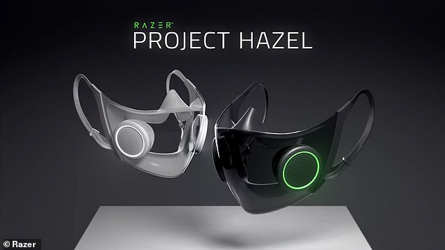 The mask, dubbed Project Hazel, features a built-in microphone and speaker to amplify the wearer's voice ¿ putting an end to muffled conversations caused by cloth face coverings