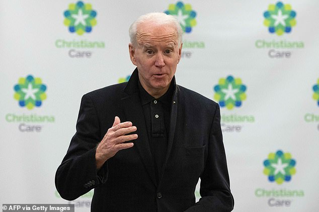 President-elect Joe Biden said he is not worried about holding his inauguration ceremony outside
