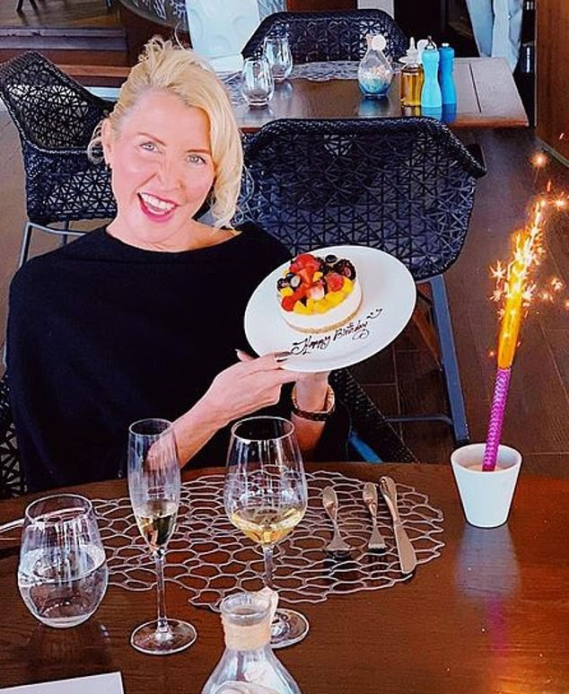 Paul McCartney's former wife Heather Mills enjoyed a sparkling birthday lunch this week